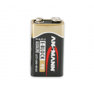 ANSMANN X-Power Alkaline 9 Volt Batteries - 24 Pack