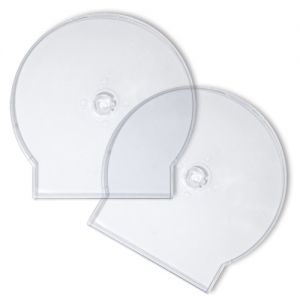 CD Clamshell Case - Superior Soft Poly - Clear