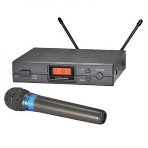 Audio-Technica 2000 Series UHF Wireless Microphone System - Handheld