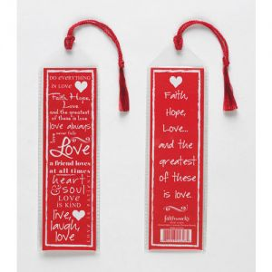 Bookmark - Love 1 pack of 12