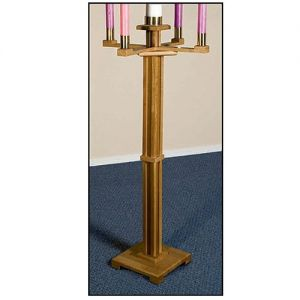 Advent Candle Stick and Candles