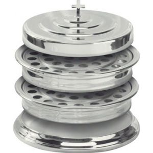 Communion Stacking Silvertone