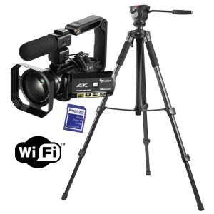 4K Package With Tripod