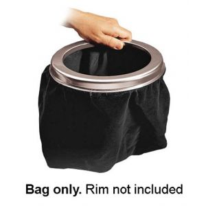 Large Capacity Velvet Offering Bag - Black