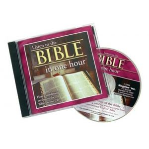 Listen to the Bible in One Hour - CD