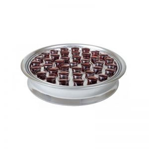 Stainless Steel Communion Tray -Silvertone