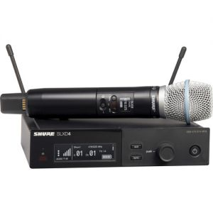 Shure SLXD24/B87A Digital Wireless Handheld Microphone System with Beta 87A