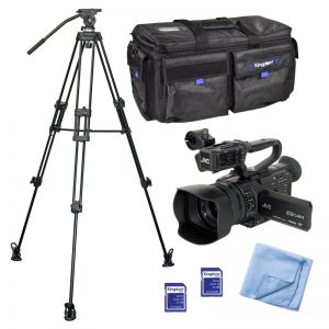 JVC GY-HM250 UHD 4K Streaming Camcorder Shooter Pack