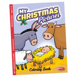 My Christmas Pictures Coloring Book