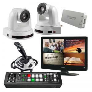 Complete HD Computer Controlled Video Camera System - 2 Cameras