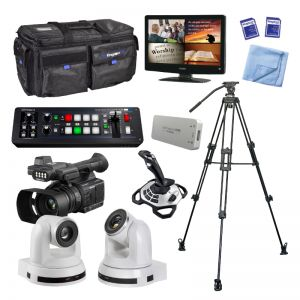 Kingdom HD Camcorder and Computer Controlled Camera Package