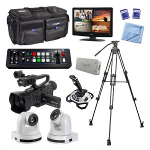 Kingdom JVC Camcorder and CC Camera Package