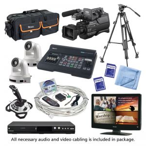 HD Computer Controlled Camera Package w/ SONY HXRMC2500