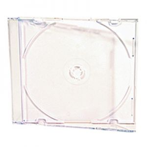 5.2mm CD Jewel Cases in 6 Color Choices - 100 Pack
