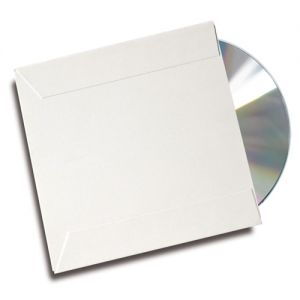 Kingdom UltraSleeve CD DVD Paper Sleeve - White