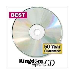 Kingdom Supreme Recordable Master Quality CDs
