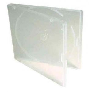 5mm Soft Poly CD Box Clear