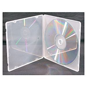 Super Clear Poly CD Jewel Box