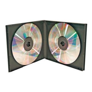 10.4mm Poly 2 DVD Case - Black_1