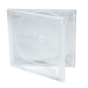 10mm Soft Poly CD Case