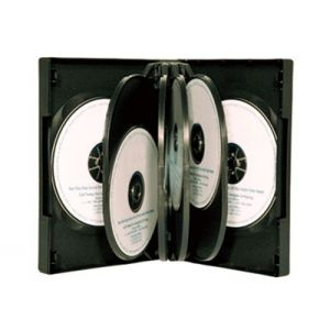 10-disc Kingdom Superior DVD Case - Black_1