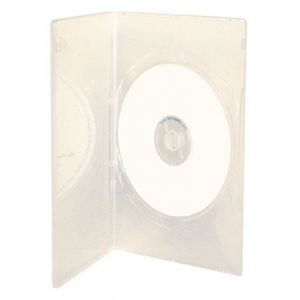 1-disc Kingdom Superior Slim DVD Case - Semi-Clear