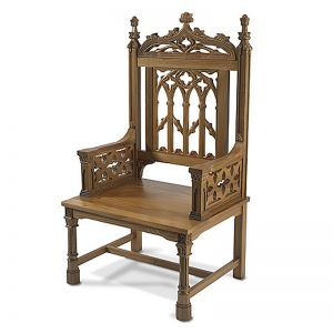 Celebrant Chair - Oak Finish
