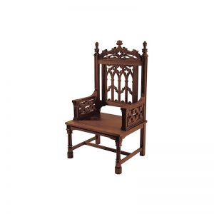 Celebrant Chair- Maple Hardwood Walnut Stain