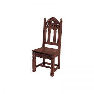 Side Chair- Maple Hardwood Walnut Stain