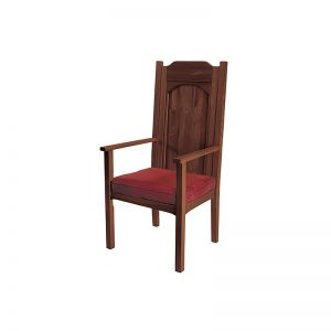 Celebrant Chair- Maple Hardwood Stain W/Upholstered Foam Seat