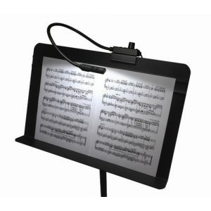 LittLite Incandescent Music Stand Light - Black