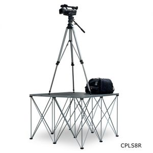 Intellistage Camera Platforms with Collapsable Risers