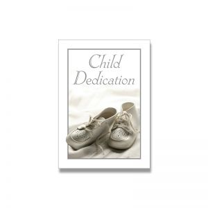 Baby Dedication Certificate- Full Color