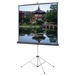 Matte White Portable Tripod 45 x 80 Screen