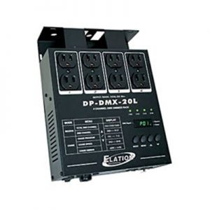 Elation DP-420 Portable Dimmer/Switch Relay Pack - 4 Channel