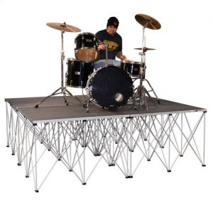 Drum Riser Package 8' x 8' with Risers
