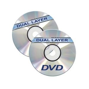 Dual Layer DVD+Rs in Jewel Cases