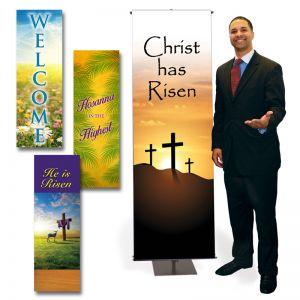 Easter Banner Vinyl Package 2' x 6'