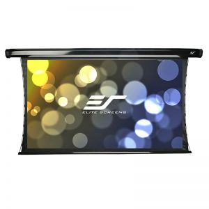 "Elite Screens TE120HW2 121"" (16:9) Premium Tensioned Electric Projection Screen"