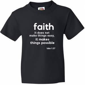 Faith It Does Not Make Things Easy - Men's