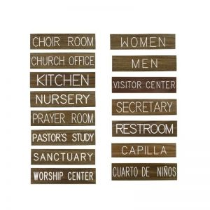 Door/Wall Signs and Holders from Kingdom 2