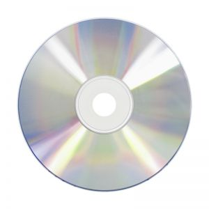 Silver Thermal DVD-R