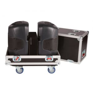 Gator G-Tour SPKR-212 Case Plywood Stores 2 12 inch Speakers