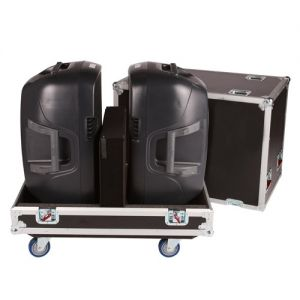 Gator G-Tour SPKR-215 2 Case Plywood Stores 2 15 inch Speakers