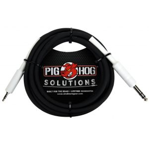 "Pig Hog Solutions - 1/4"" TRS to 1/8"" mini, 3ft"
