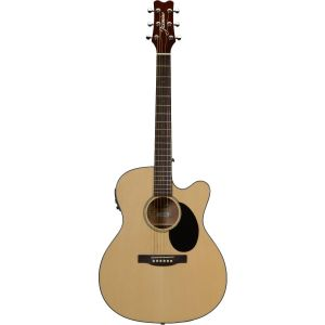 Jasmine JO36CE-NAT Orchestra Acoustic/Electric Guitar (Natural)