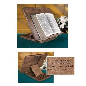 Maple Hardwood Bible Stand