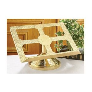 IHS Brass Bible Stand