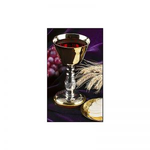 Dual Tone Chalice With Paten 5 Oz