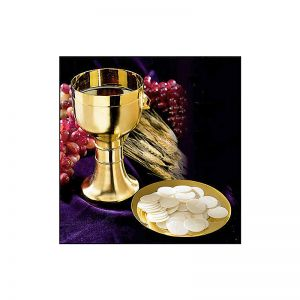 Matte Finish Chalice and Paten Set